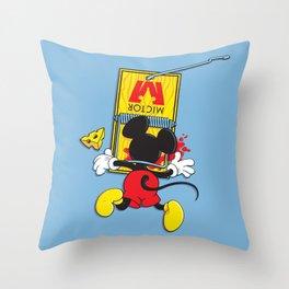 A Better Mousetrap Throw Pillow