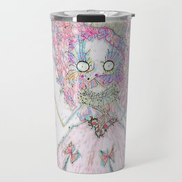 Velvetesque Dolls • Victorian Collection #3B Travel Mug