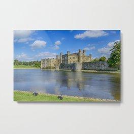 Leeds Castle Moat 2 Metal Print