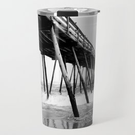 Avalon Pier Kill Devil Hills, NC Travel Mug