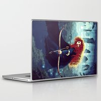 merida Laptop & iPad Skins featuring Brave - Merida by Juniper Vinetree