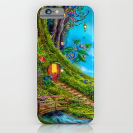 Day Moon Haven iPhone Case