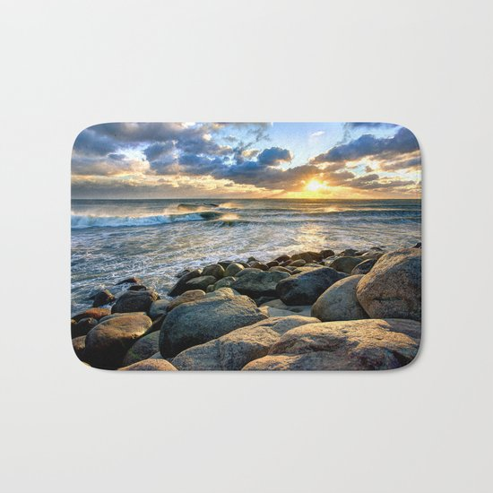 Sea Rocks Bath Mat