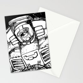 B&W SWERVE Stationery Cards