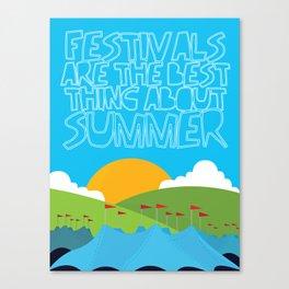 FESTIVALS Canvas Print