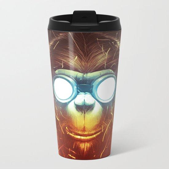 Monksmith II Metal Travel Mug