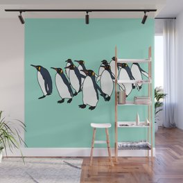 March of Penguins Wall Mural