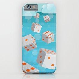 Raining Dice iPhone Case