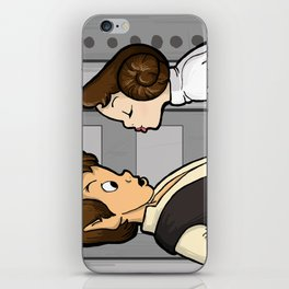To Give A Scoundrel A Kiss iPhone Skin
