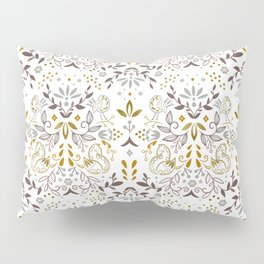 Enchanted forest - Brown-Gold Pillow Sham