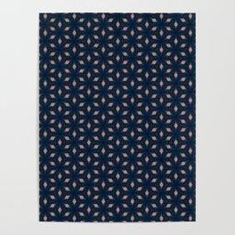 V29 Moroccan Traditional Carpet and Rug Design. Poster