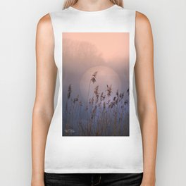 Lake with heart Biker Tank