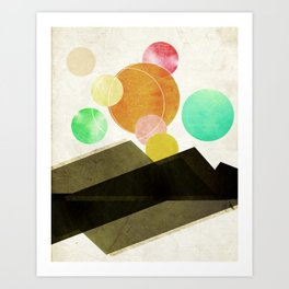 Unclaimed Mountain #1 Art Print