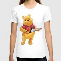 winnie the pooh T-shirts featuring Winnie the pooh hardcore parody by Jin Ruukyu