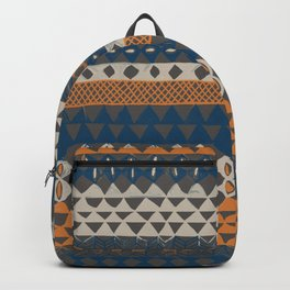Hand-Painted Ethnic Pattern Backpack