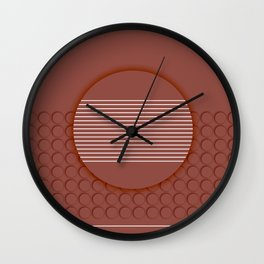 Rusty dot Wall Clock