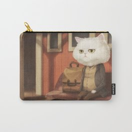 A cat waiting for someone Carry-All Pouch