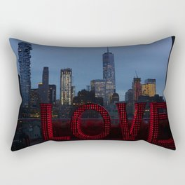 All you need is love, NYC Rectangular Pillow
