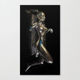 TeshaSilver Canvas Print