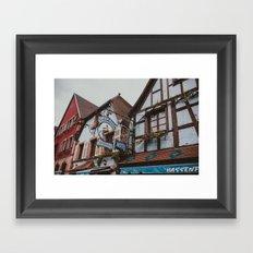 Chez Roger Framed Art Print