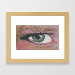 Intense Framed Art Print