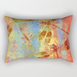 A Dragonflies QQW Rectangular Pillow