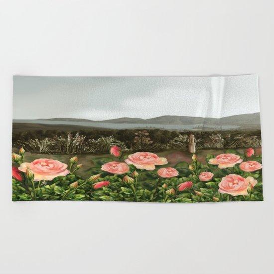 Le Rose Beach Towel