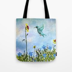 Sun Flower Day Tote Bag