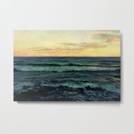 Alamillo Beach Sunset Metal Print