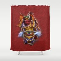 theatre Shower Curtains featuring Chinese Theatre by Lucia