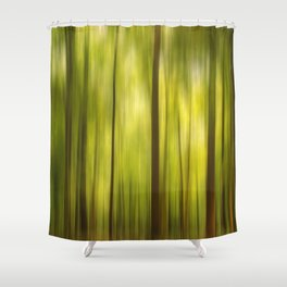 Warmth of the Forests Colors Shower Curtain