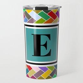 E Monogram Travel Mug