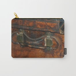 Steam-punk Vintage Steamer-trunk Handle Carry-All Pouch