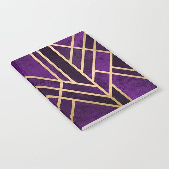 Art Deco Royal Notebook