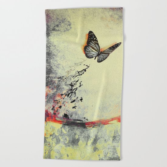 Waterfly III Beach Towel