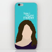 himym iPhone & iPod Skins featuring Robin Scherbatsky HIMYM by Rosaura Grant
