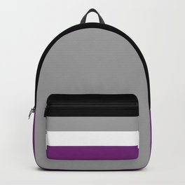 Asexual Flag Backpack