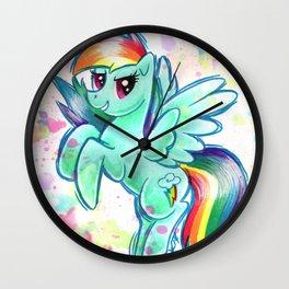 Rainbow Dash Wall Clock