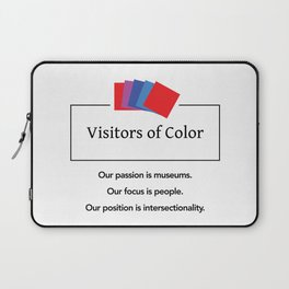 Visitors of Color Laptop Sleeve