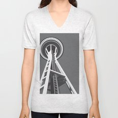 Space Needle Unisex V-Neck