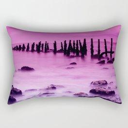 Pink Sky #4 Rectangular Pillow