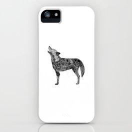 Henna-Inspired Wolf iPhone Case