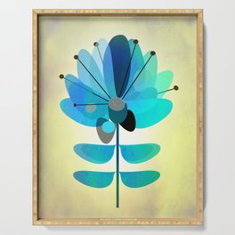 Die Blaue Blume Serving Tray
