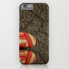 Shoes on Cement Slim Case iPhone 6s