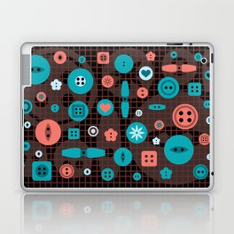 button it Laptop & iPad Skin