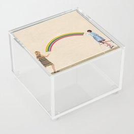 Coat of Many Colors Acrylic Box