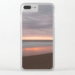 Cape Cod Sunrise Clear iPhone Case