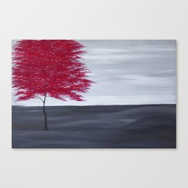 Red Tree Canvas Print
