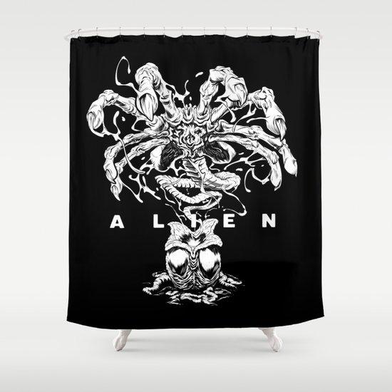 ALIEN: FACEHUGGER Shower Curtain
