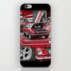 1966 Mustang  iPhone & iPod Skin